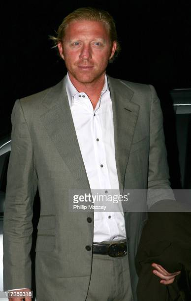 Boris Becker during Guests Arriving at The Late Late Show with Pat Kenny in Dublin - September 22, 2006 at RTE Studios in Dublin, Ireland.