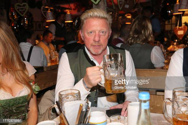 Boris Becker during the Almauftrieb as part of the Oktoberfest 2019 at Kaefer Tent at Theresienwiese on September 22 2019 in Munich Germany