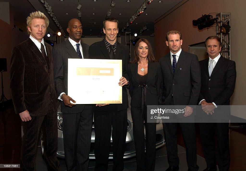 Mercedes Benz Live Auction to Benefit the Laureus Sport for Good Foundation