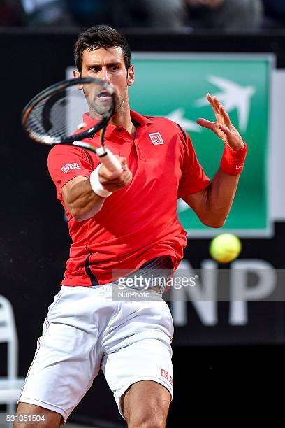 Boris Becker head coach of Novak Djokovic during the ATP match Djokovic vs Thomaz Bellucci at the Internazionali BNL d'Italia 2016 at the Foro...
