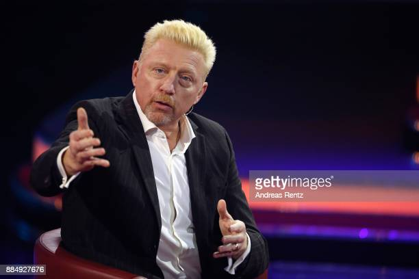 Boris Becker is seen on stage at '2017 Menschen Bilder Emotionen' TV Show on December 3 2017 in Huerth Germany