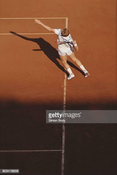 Boris Becker Serve