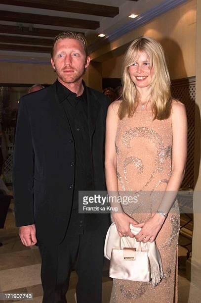 Boris Becker und Claudia Schiffer Bei Dorint Gala Auf Mallorca