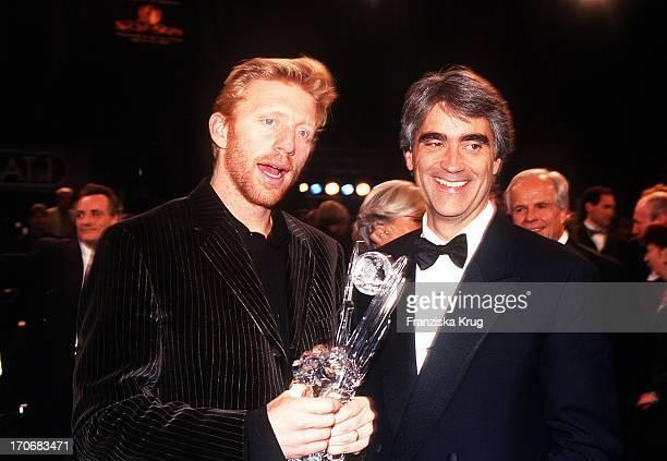 Boris Becker Und Mark Miles Bei Die Nacht Der Stars