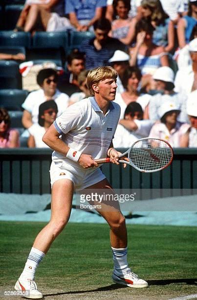TENNIS WIMBLEDON 1985 7/85 Boris BECKER/GER