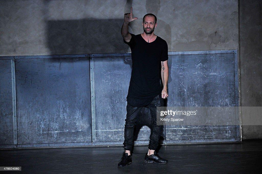 Boris Bidjan Saberi : Runway - Paris Fashion Week - Menswear Spring/Summer 2016