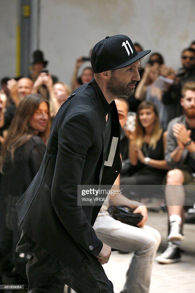 Boris Bidjan Saberi : Runway - Paris Fashion Week - Menswear S/S 2015