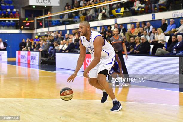 Boris Diaw of Levallois during the Jeep Elite match between Levallois and Gravelines Dunkerque on March 17 2018 in LevalloisPerret France