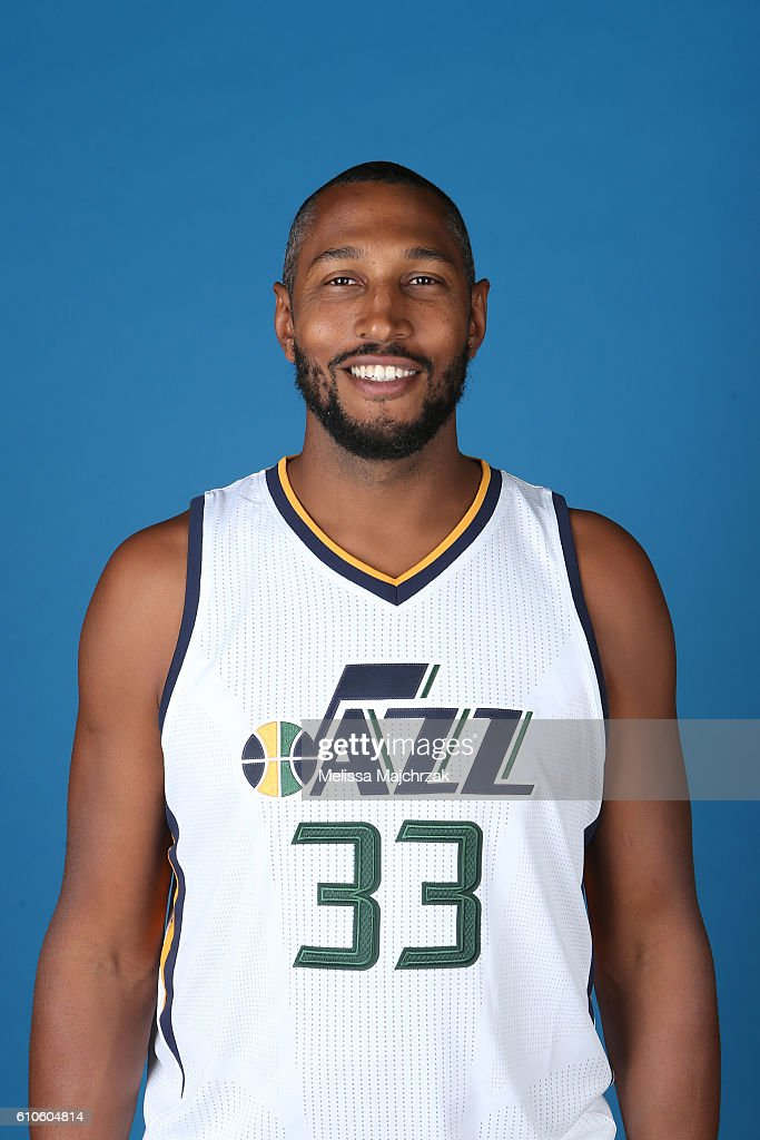 2016-2017 Utah Jazz Media Day : Nyhetsfoto