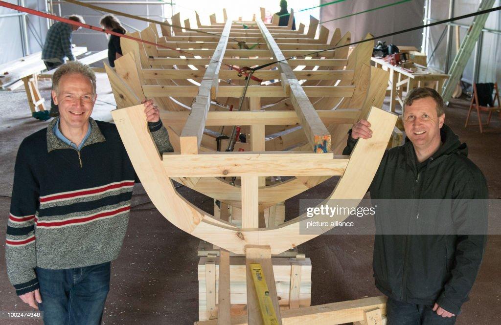 Roman military ships : News Photo