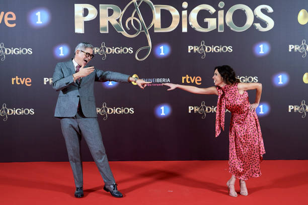 ESP: 'Prodigios' RTVE 3rd Season Presentation In Madrid