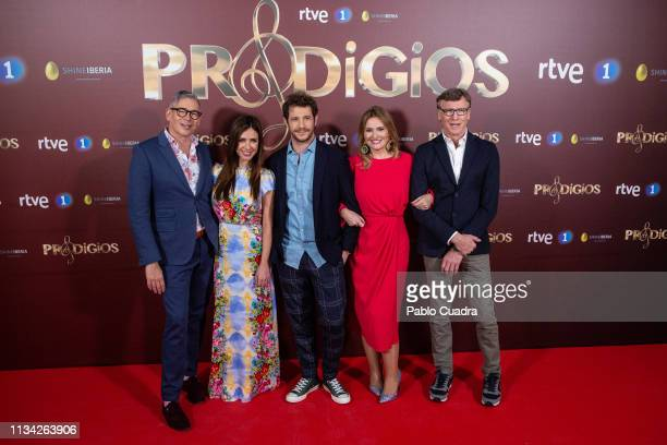 Boris Izaguirre Paula Prendes Andres Salado Ainhoa Arteta and Nacho Duato present 'Prodigios' Telent Show at Monumental Theater on March 07 2019 in...