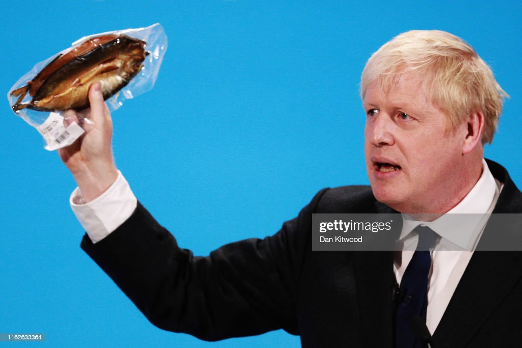 Boris Johnson And Jeremy Hunt Take Part In The Final Hustings Of The Conservative Leadership Campaign : Foto jornalística