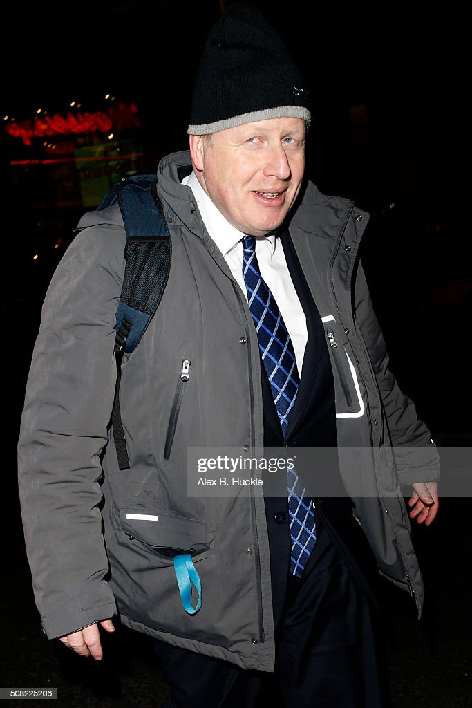 Boris Johnson Sighting At The Ivy