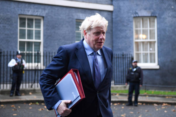 GBR: U.K. Cabinet Ministers Attend Weekly Meeting