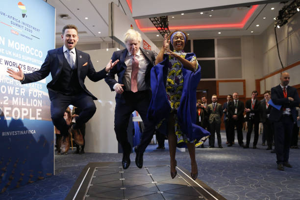 GBR: Prime Minister Johnson Hosts U.K. Africa Investment Summit