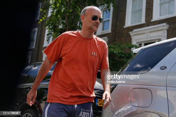 Boris Johnson's Chief Advisor Dominic Cummings leaves his home on May 23 2020 in London England On March 31st 2020 Downing Street confirmed to...