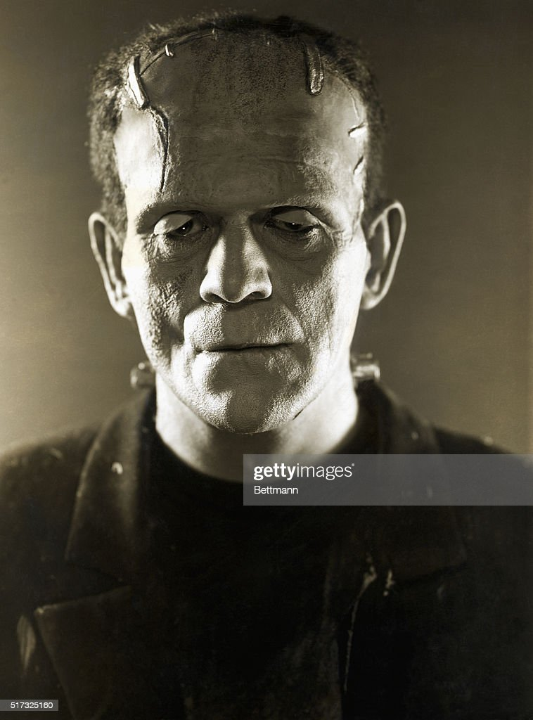 Boris Karloff as Frankenstein's Creature : News Photo