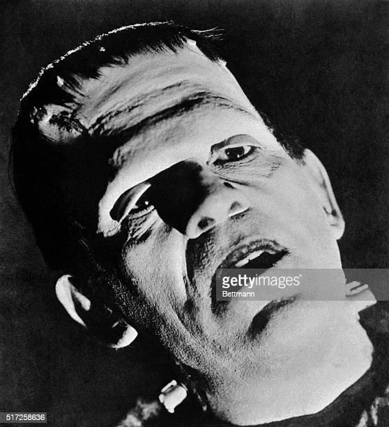 Boris Karloff as Frankenstein's Monster in the 1939 motion picture Son of Frankenstein