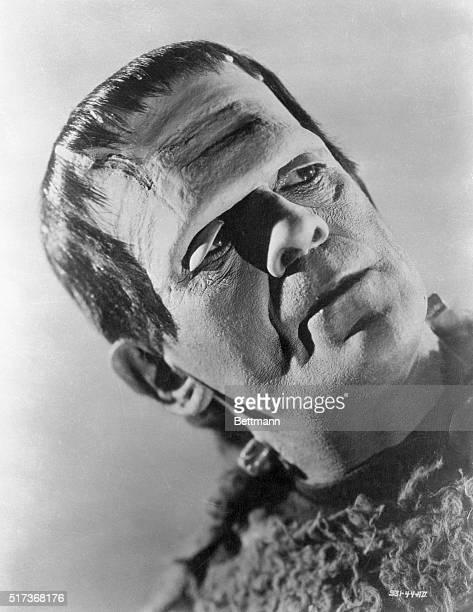 Boris Karloff as the Monster in Universal Pictures' 1939 film Son of Frankenstein