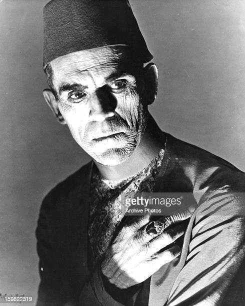 Boris Karloff in a scene from the film 'The Mummy' 1932