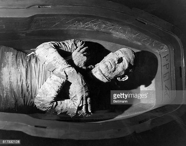 Boris Karloff in the 1932 motion picture The Mummy