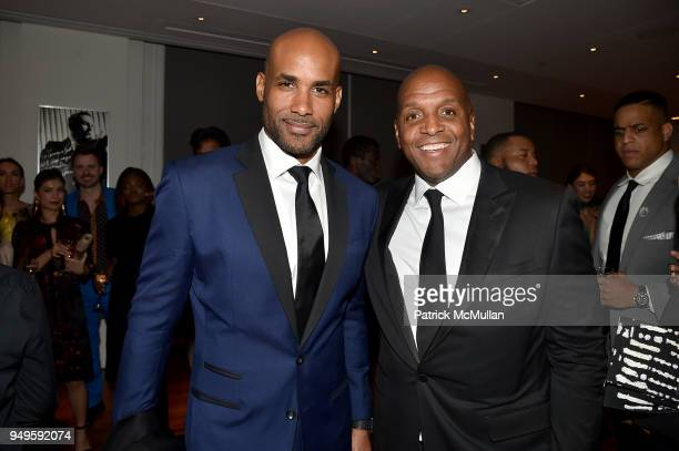 Boris Kodjoe and Guest attend Opera and Couture Radmila Lolly at Carnegie Hall on April 20 2018 in New York City