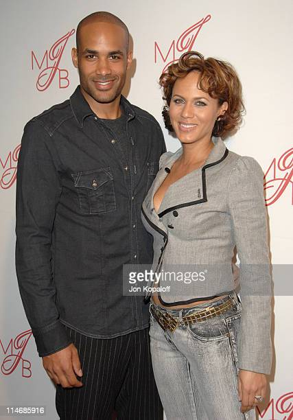 Boris Kodjoe and Nicole Ari Parker during Will Smith and Jada Pinkett Smith Host PreGrammy Party to Celebrate Grammy Nominee Mary J Blige Arrivals at...