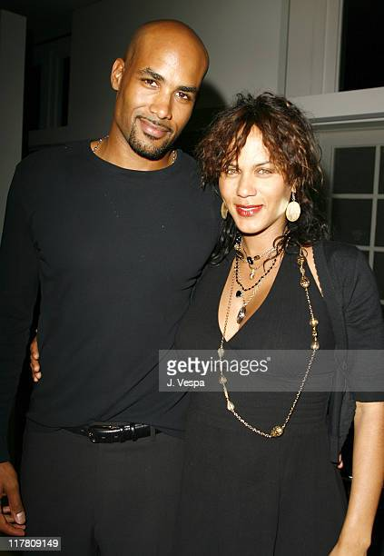 Boris Kodjoe and Nicole Ari Parker during Wolfgang Puck Cut Steakhouse Opening at Regent Beverly Wilshire in Beverly Hills California United States