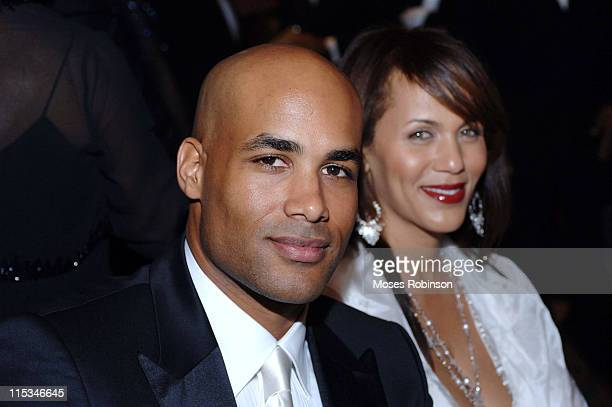 Boris Kodjoe and Nicole Ari ParkerKodjoe during 22nd Annual Mayor's Masked Ball 'An Evening of Holiday Magic' at Atlanta Marriott Marquis in Atlanta...