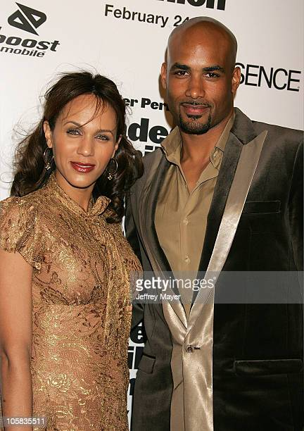 Boris Kodjoe and wife Nicole Ari Parker during Madea's Family Reunion Los Angeles Premiere Arrivals at ArcLight Cinemas in Hollywood California...