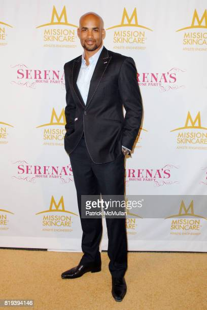 Boris Kodjoe attend Serena Williams Throws A PreESPY's Fete to Honor Athletes and Celebrities at a Private Residence on July 12th 2010 in Los Angeles...