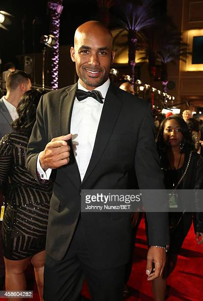 Boris Kodjoe attends 2014 Soul Train Music Awards on November 7 2014 in Las Vegas Nevada