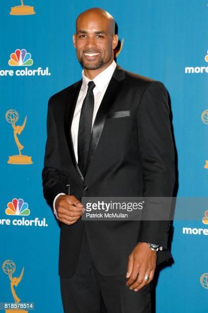 Boris Kodjoe attends 62nd Annual Primetime Emmy Awards Press Room at Nokia Theatre LA Live on August 29 2010 in Los Angeles CA
