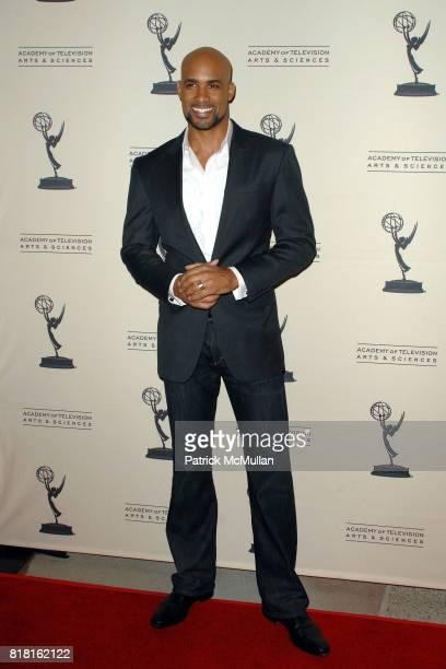 "Boris Kodjoe attends Academy of Television Arts Sciences Presents ""Primetime TV Crimefighters"" at Leonard H Goldenson Theatre on November 1 2010 in..."
