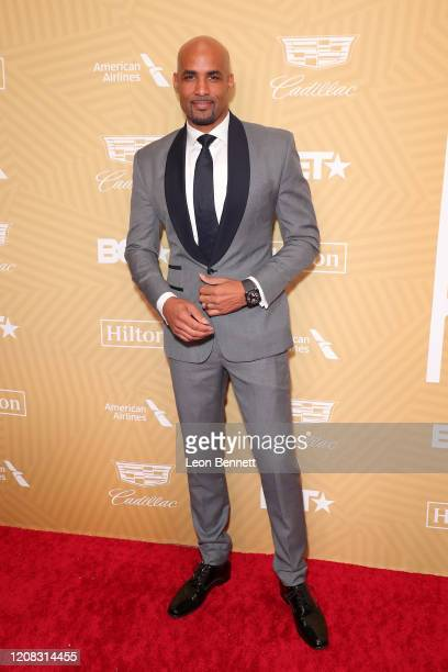 Boris Kodjoe attends American Black Film Festival Honors Awards Ceremony at The Beverly Hilton Hotel on February 23, 2020 in Beverly Hills,...