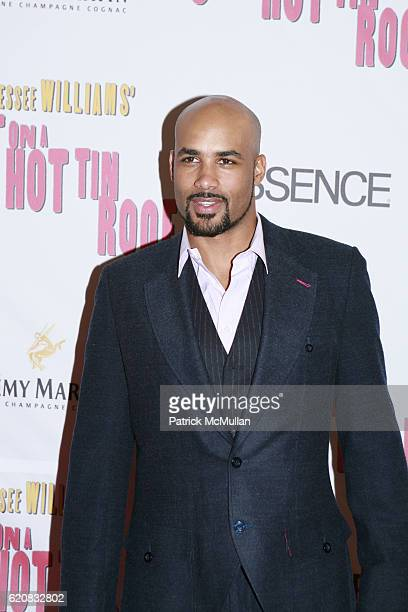 Boris Kodjoe attends Broadway Premiere of Cat On A Hot Tin Roof at Broadhurst Theater on March 6 2008 in New York City