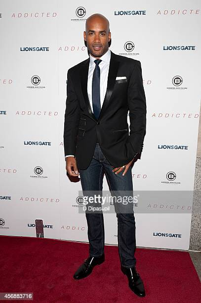 Boris Kodjoe attends the 'Addicted' New York Premiere at Regal Union Square on October 8 2014 in New York City