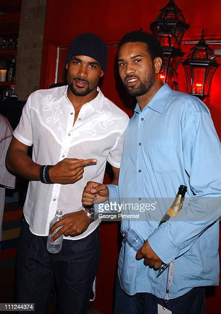 Boris Kodjoe during Maxim Magazine and Coors Light Present Tale Spin at the Much Music Video Awards at This is London in Toronto Ontario Canada