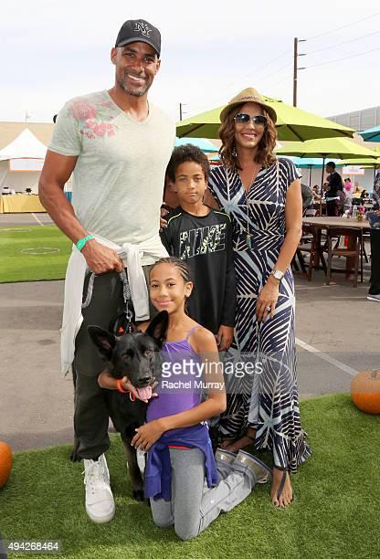 Boris Kodjoe wife Nicole Ari Parker children Sophie Tei Naaki Lee Kodjoe and Nicolas Neruda Kodjoe attend the Elizabeth Glaser Pediatric AIDS...