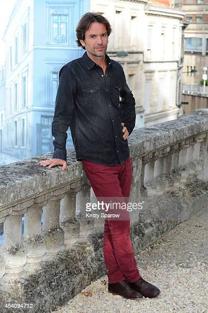 Boris Lojkine attends the 'Hope' Photocall at Hotel Mercure during the 7th Angouleme FrenchSpeaking Film Festival on August 24 2014 in Angouleme...