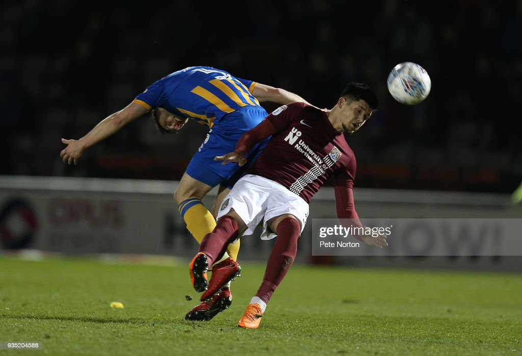 Northampton Town v Shrewsbury Town - Sky Bet League One