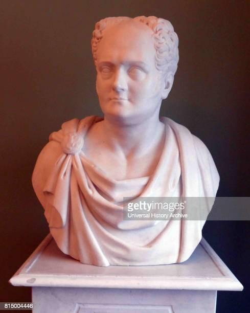 Boris Orlovsky marble bust portrait of Tsar Alexander I 1822 Boris Ivanovich Orlovsky was a Russian Neoclassical sculptor