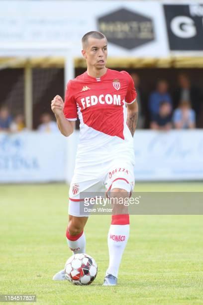 Boris Popovic of Monaco during the pre-season friendly match between AS Monaco and KSC Lokeren on July 7, 2019 in Wetteren, Belgium.