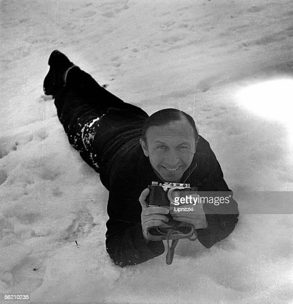 Boris Lipnitzki French photographer Kitzbuhel january 1936