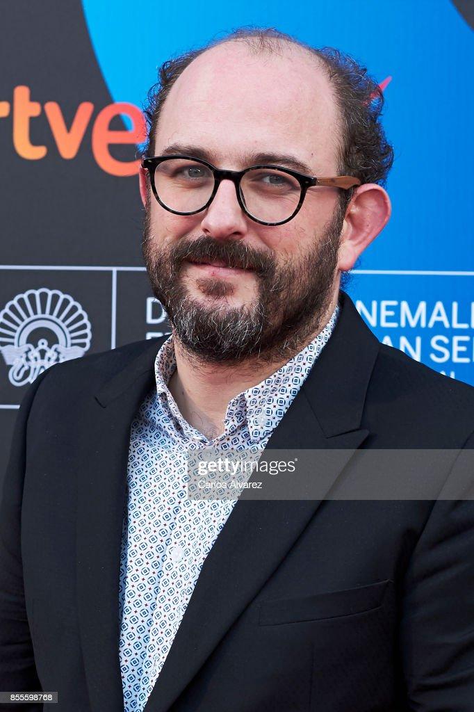 Borja Cobeaga on the red carpet for the premiere of the Netflix Film 'Fe De Etarras' at San Sebastian International Film Festival 2017 on September 29, 2017 in San Sebastian, Spain.