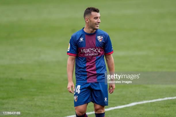 Borja Garcia of SD Huesca during the La Liga Santander match between SD Huesca v Cadiz FC at the El Alcoraz Stadium on September 20 2020 in Huesca...