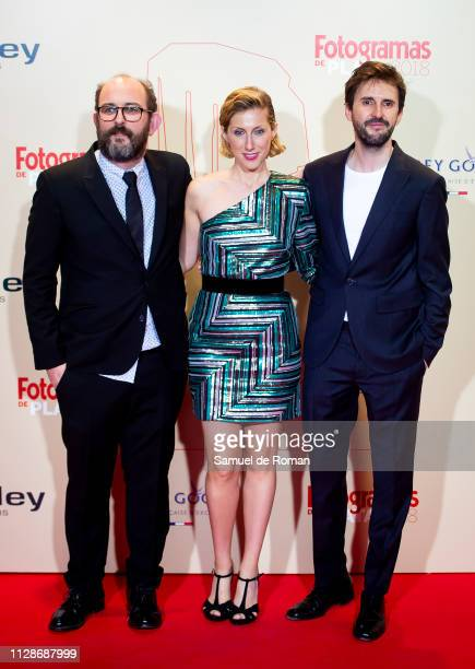 Borja Kobeaga Cecilia Freire and Julian Lopez attend the Fotogramas Awards 2019 at Florida Park Club on March 04 2019 in Madrid Spain