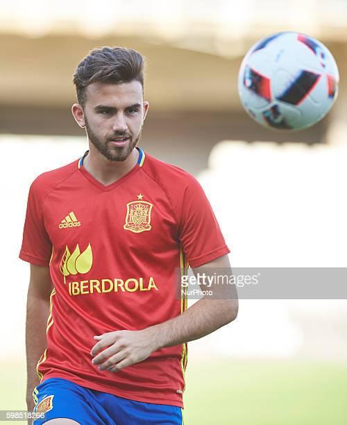Borja Mayoral of Spain U21 during the UEFA Euro U21 2017 Qualifiers match at Nou Estadi Castlia Castellon de la Plana