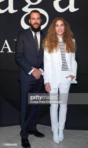Borja Thyssen and Blanca Cuesta attend 'Balenciaga Y La Pintura Española' exhibition opening on June 17 2019 in Madrid Spain